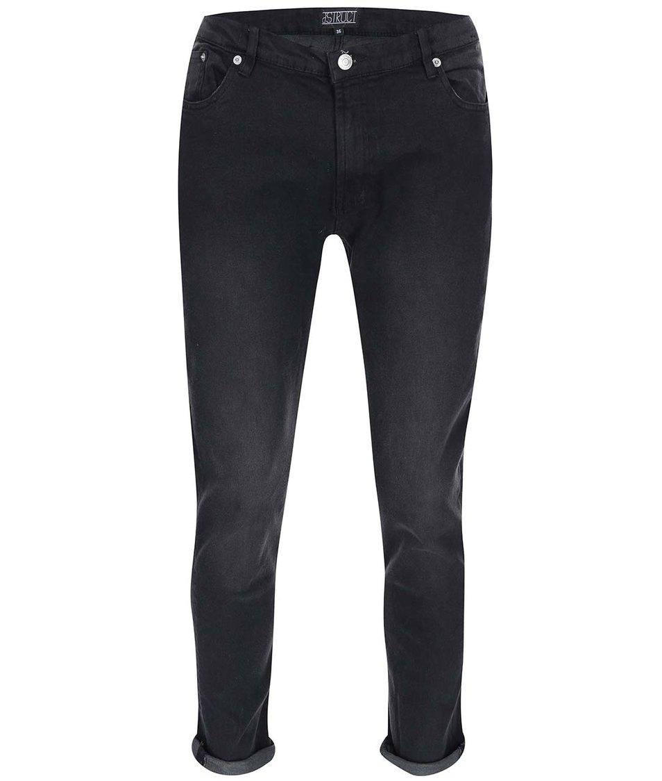 Černé skinny džíny D-Struct Horizon