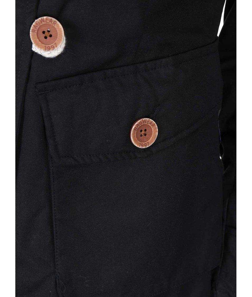 Černá dámská bunda Ragwear Samantha