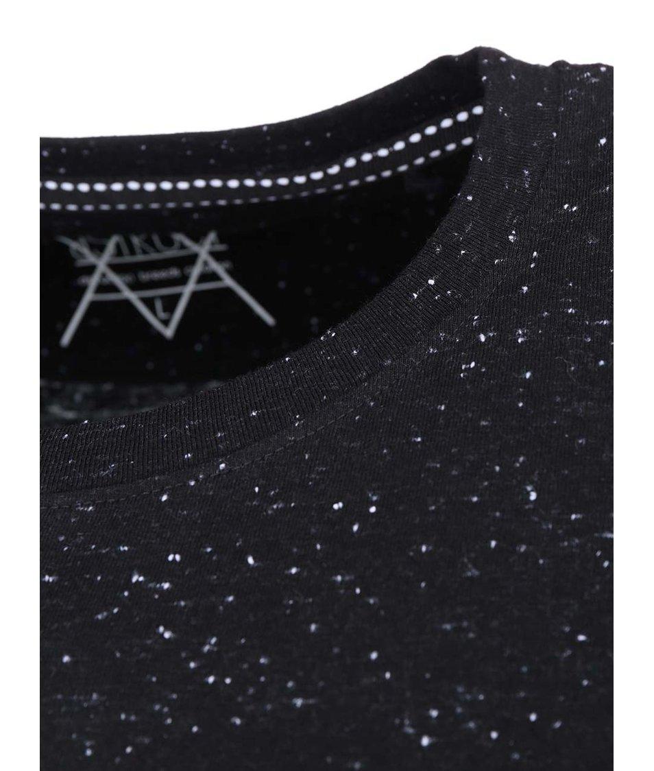 Černé triko D-Struct Comet