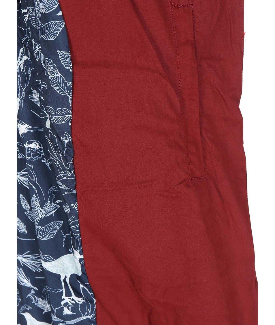 Tmavě červená dámská bunda Ragwear Flash