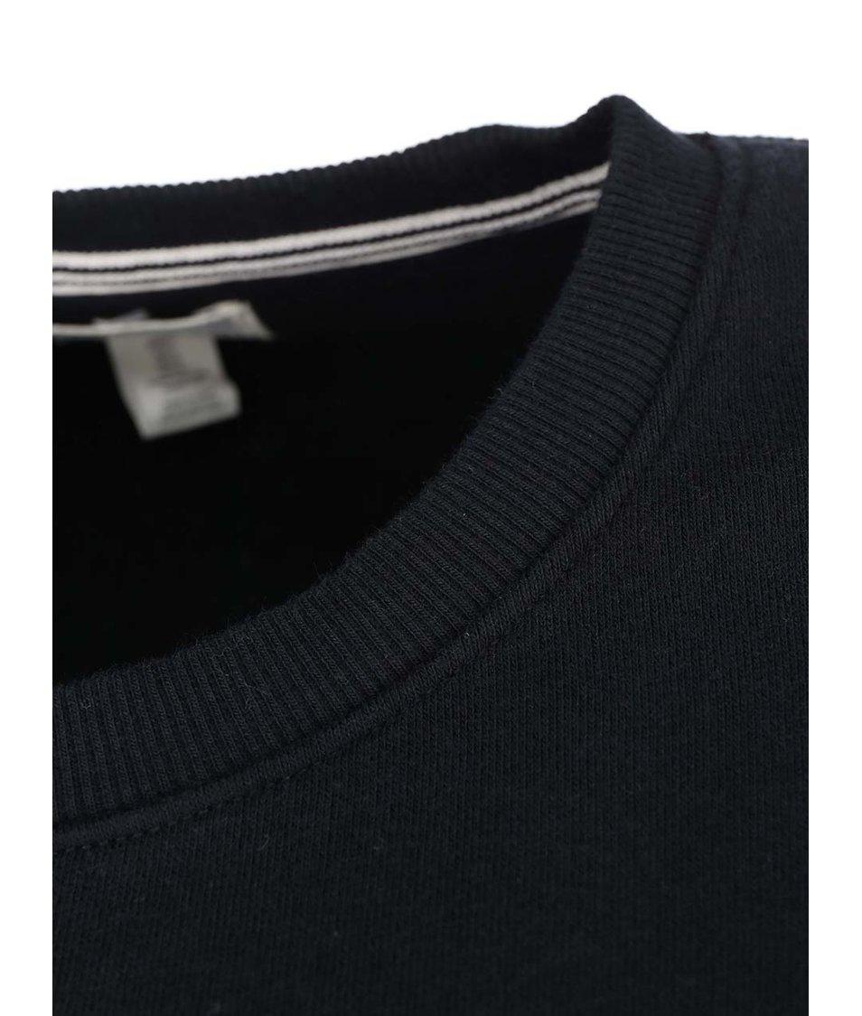 Černá pánská mikina s logem Converse