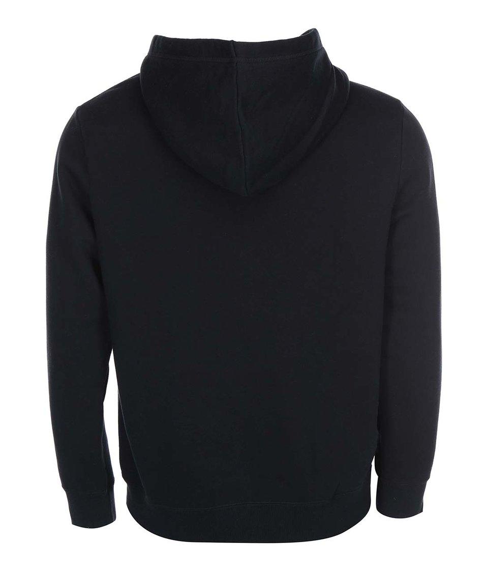 Černá pánská mikina na zip Converse