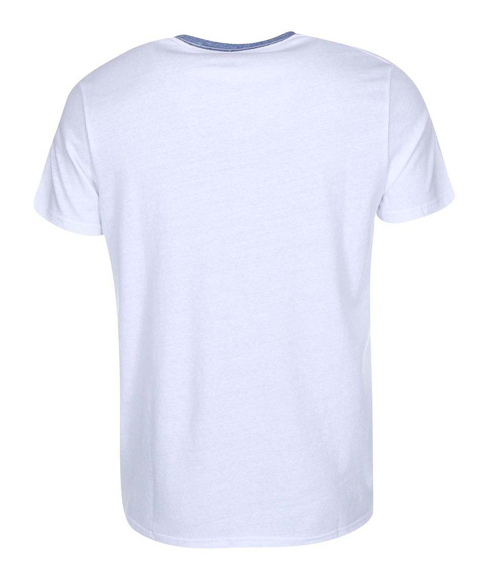 Bílé pánské triko s logem Converse