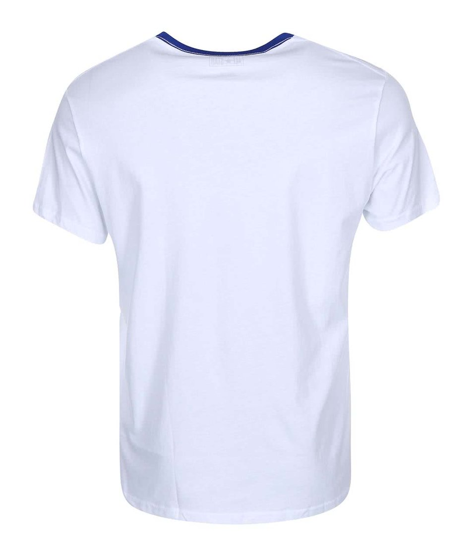 Bílé pánské triko s červeným potiskem Converse