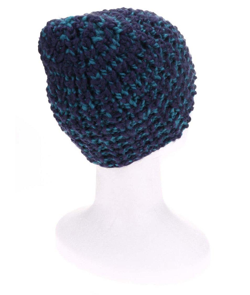 Modro-zelená dámská čepice Ragwear Ashley