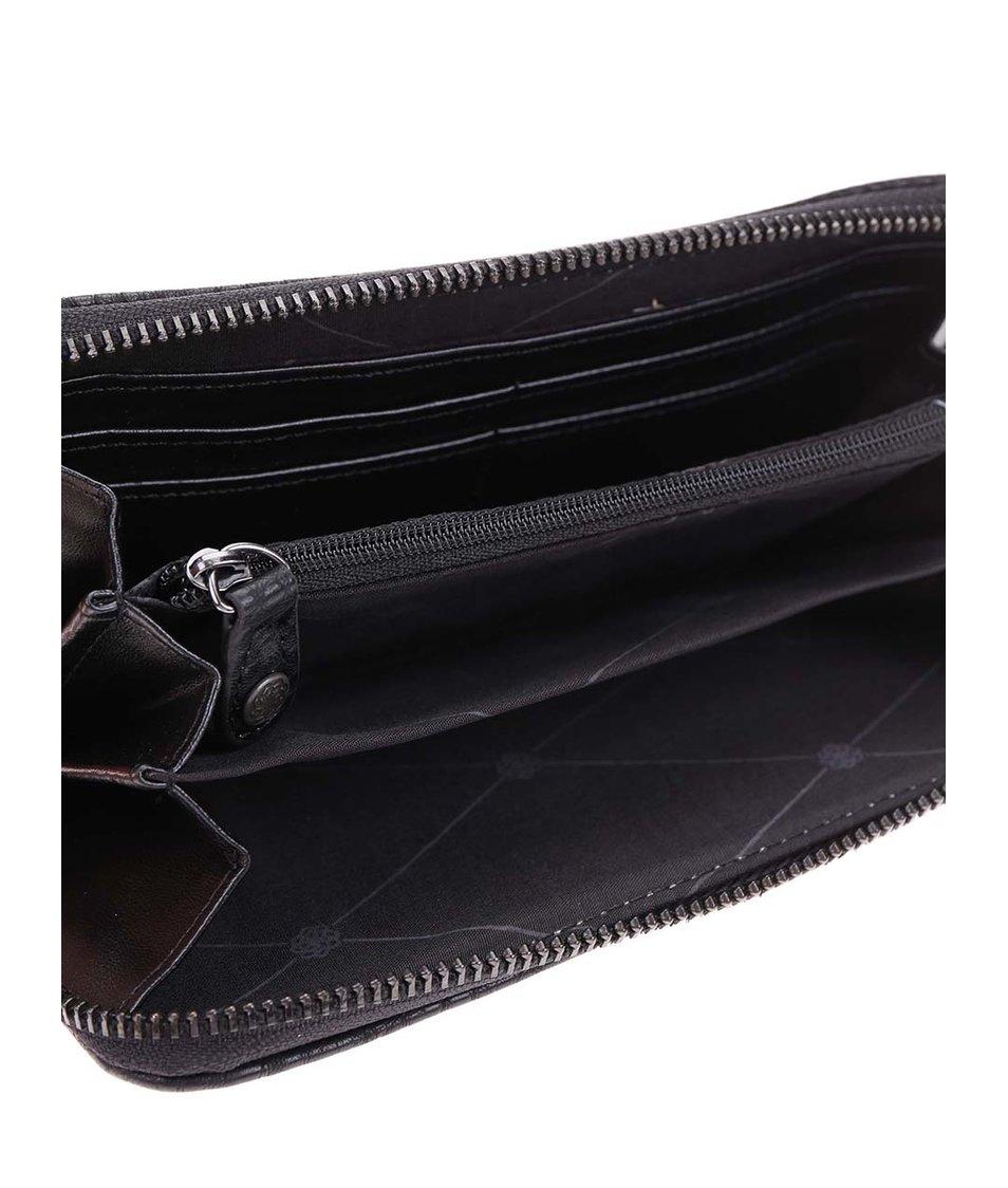 Černá peněženka Pieces Roma
