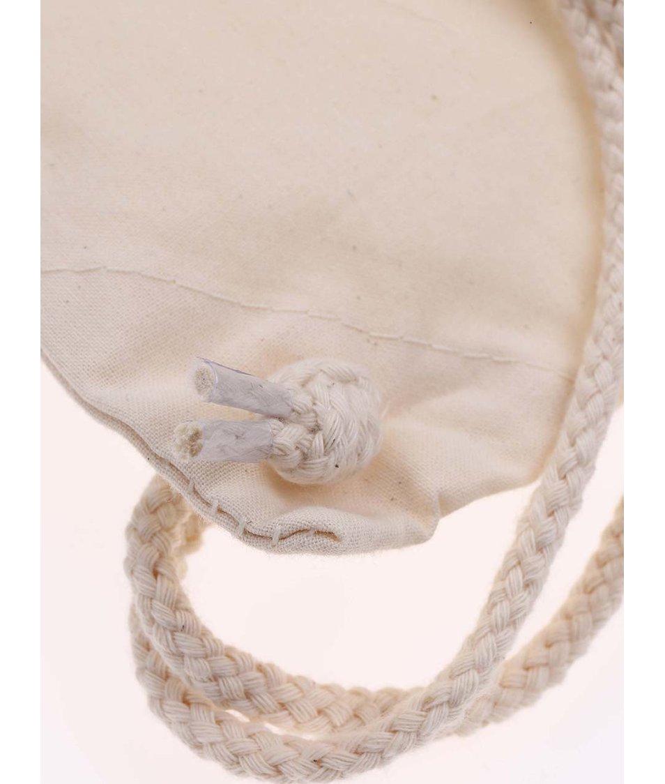 Krémový plátěný vak ZOOT Originál Barevné longboardy