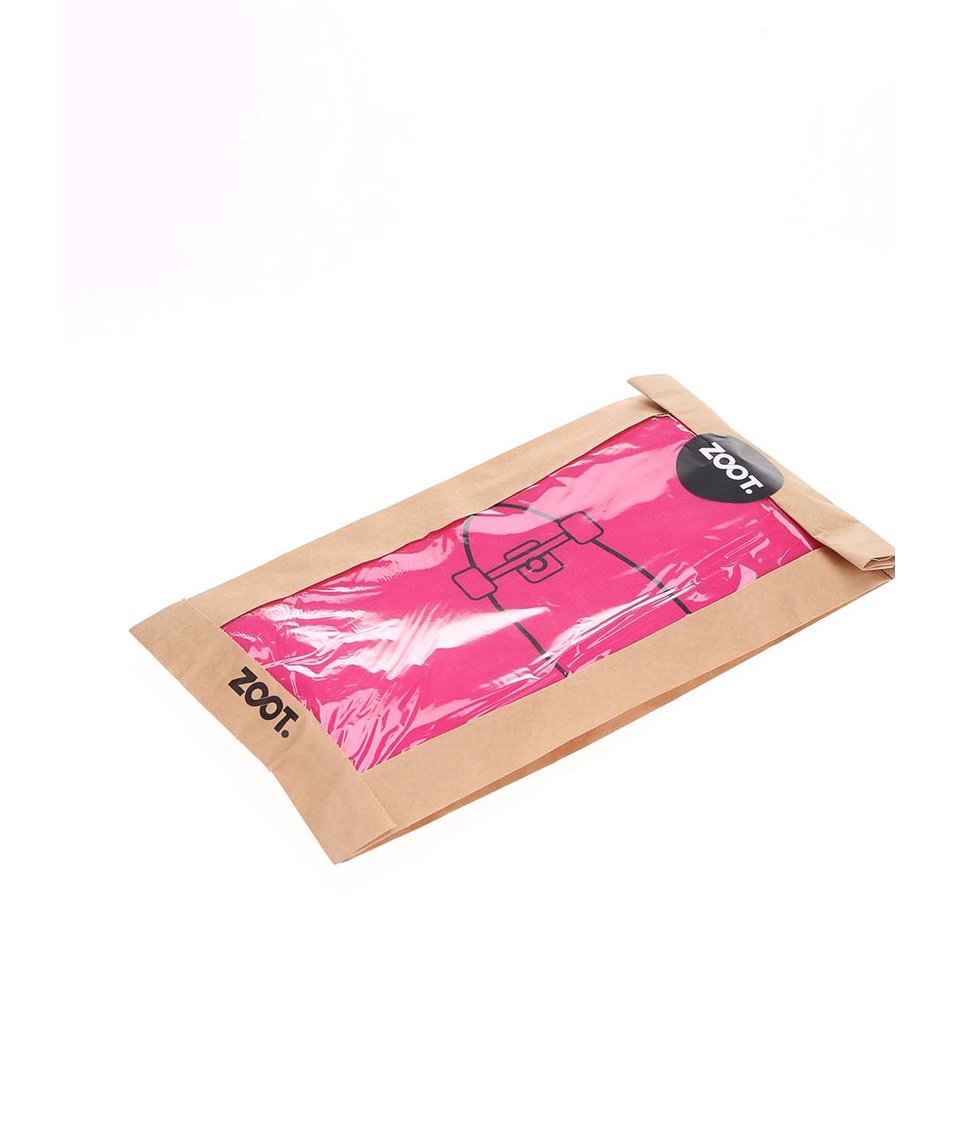 Růžový plátěný vak ZOOT Originál Penny