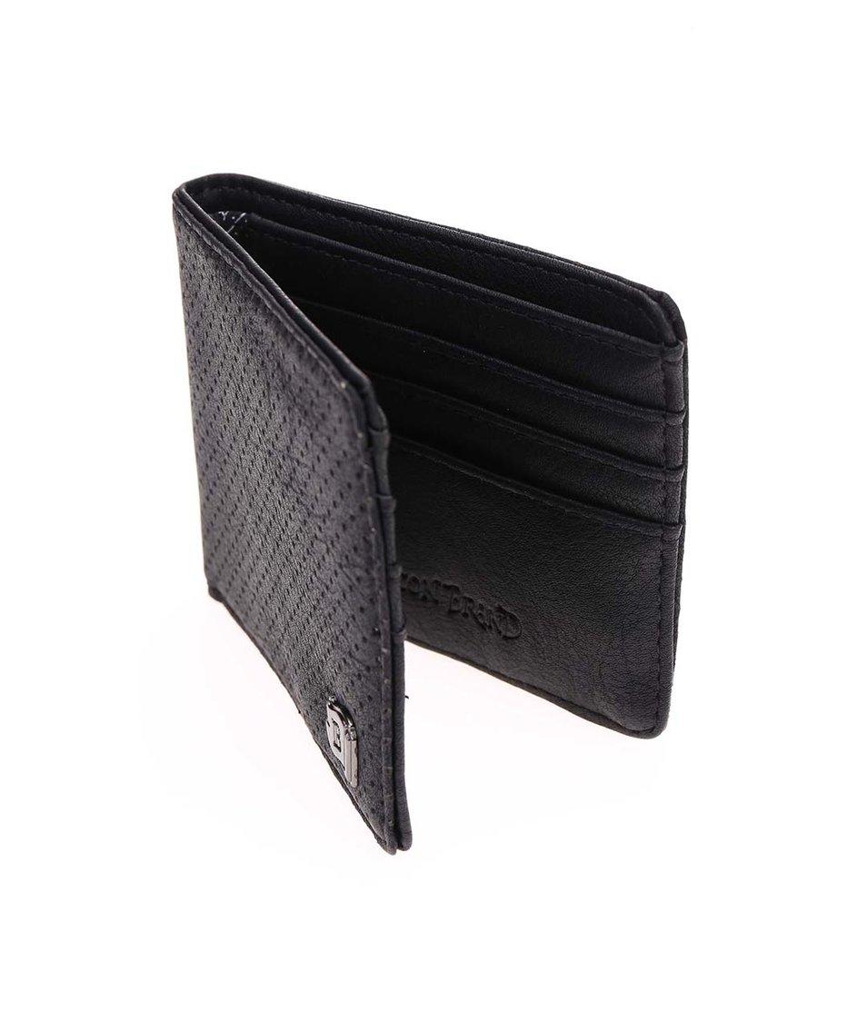 Černá peněženka Icon Brand Blackout