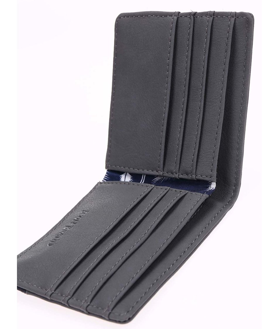 Modro-šedá peněženka Icon Brand Paper & plane