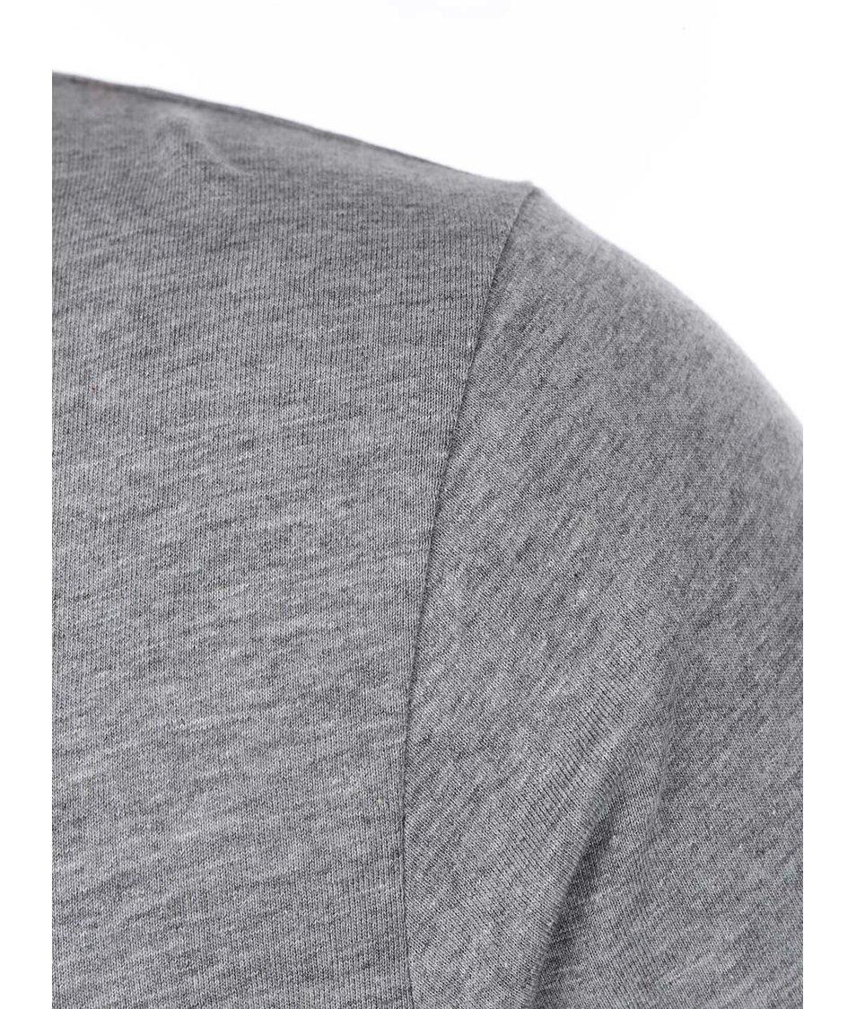 Šedé triko s potiskem lebek Jack & Jones Zero