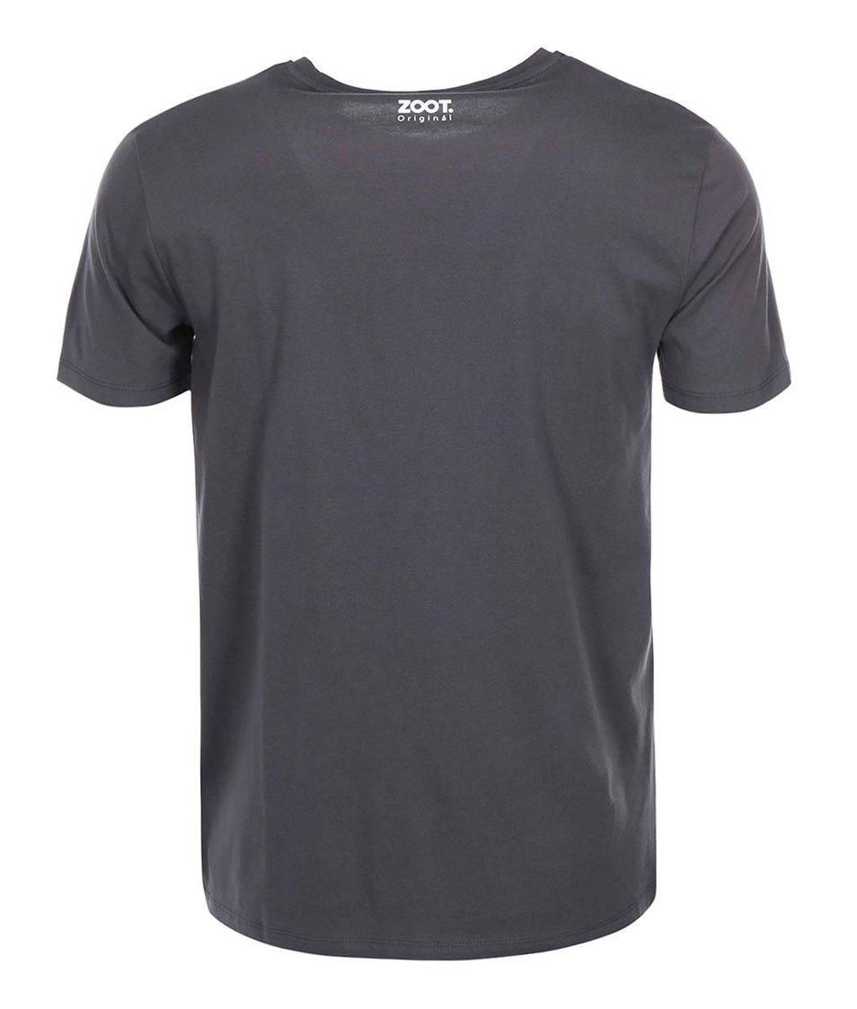 Šedé pánské triko ZOOT Originál Jmenuji se