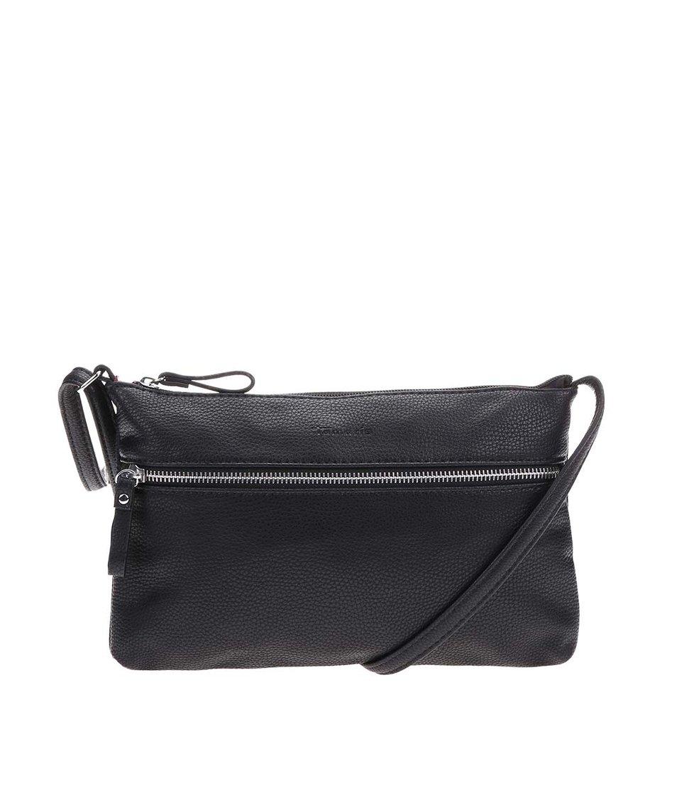 Černá menší kabelka přes rameno Tamaris Alina