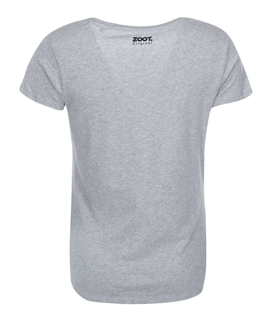 Šedé dámské tričko ZOOT Originál Už nejsem žádný dítě