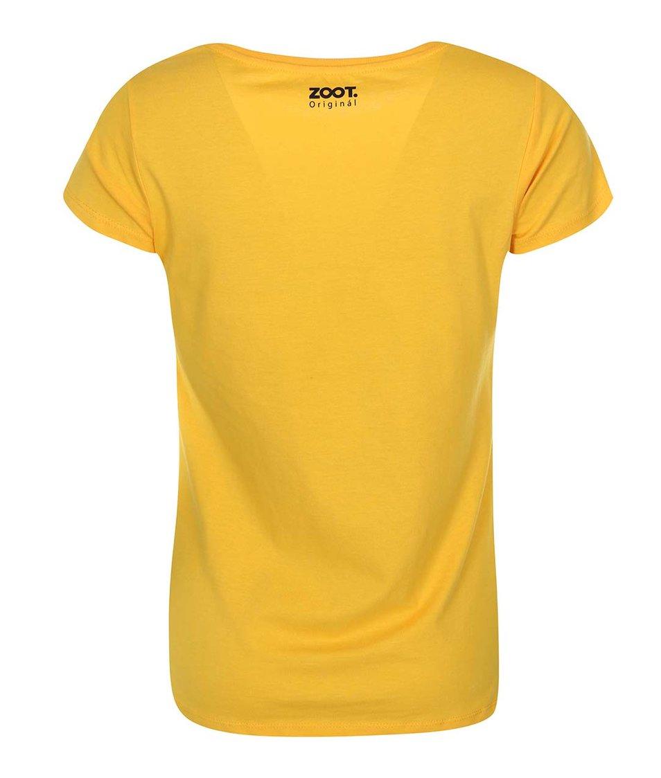Žluté dámské tričko ZOOT Originál Too Young To Know