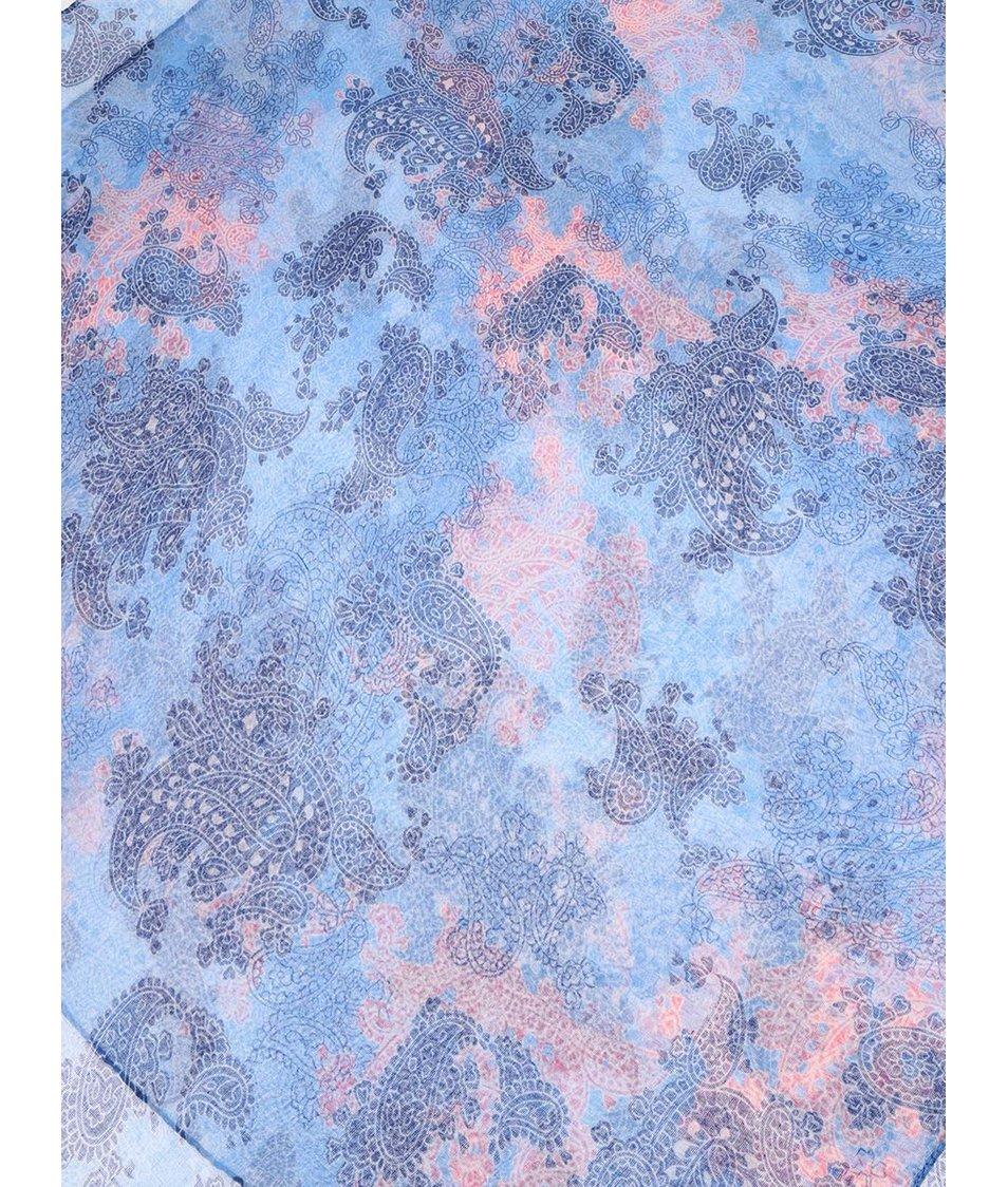 Modrý šátek se vzorem Joe Cool
