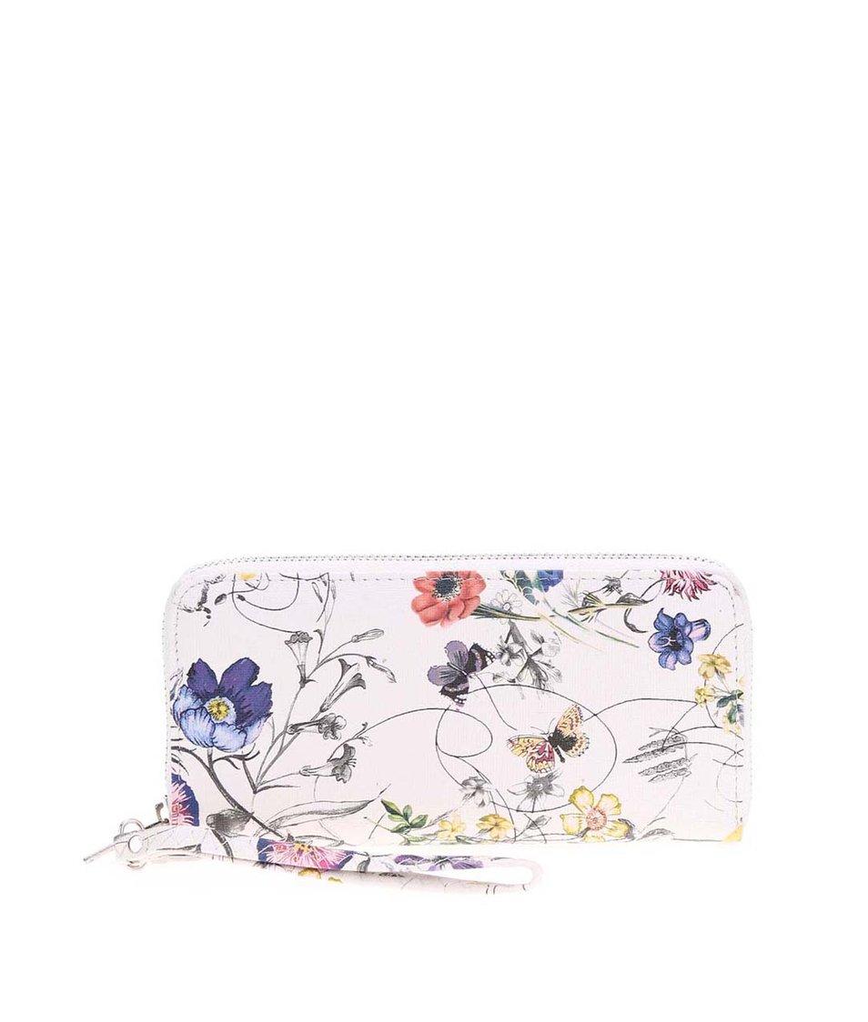 Krémová peněženka se vzorem lučních květů Joe Cool