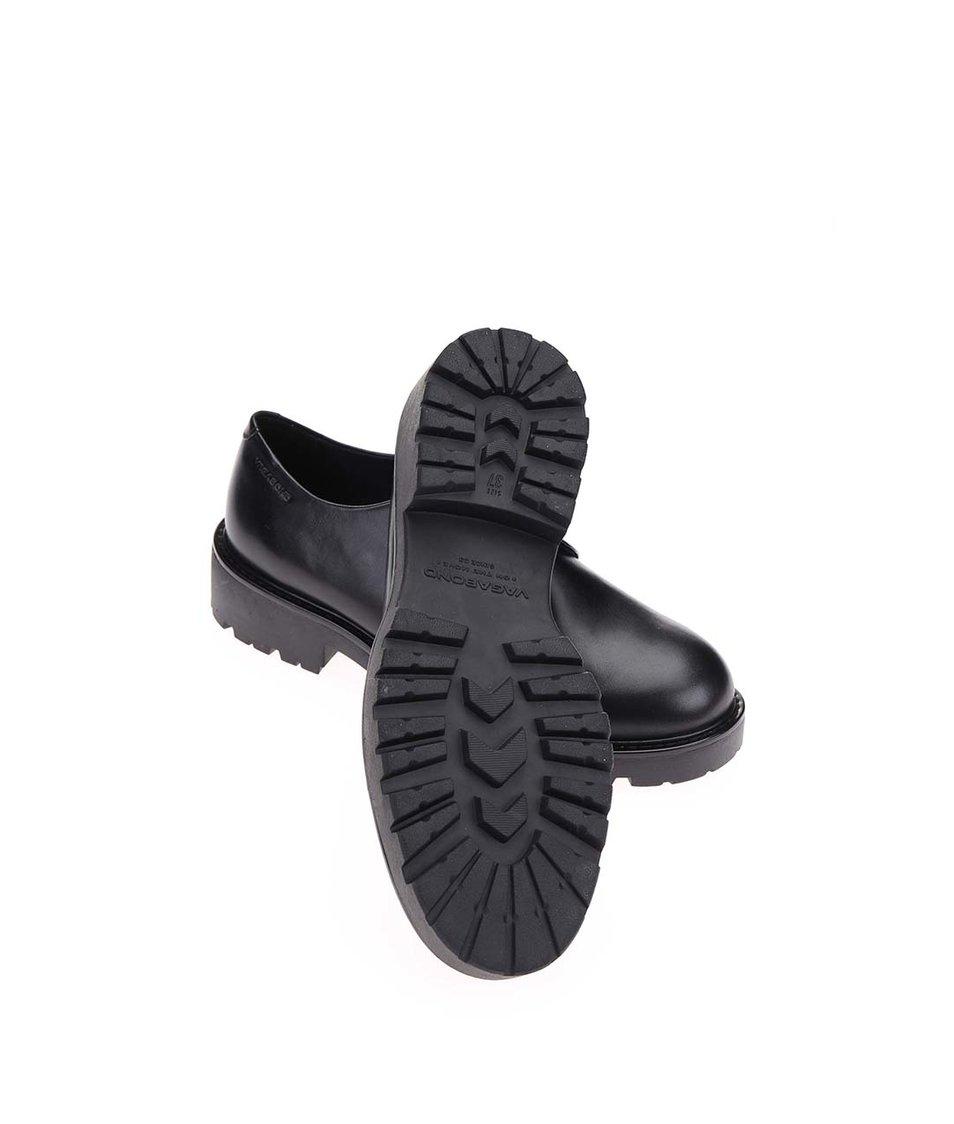 Černé dámské polobotky s pružným pásem Vagabond Kenova