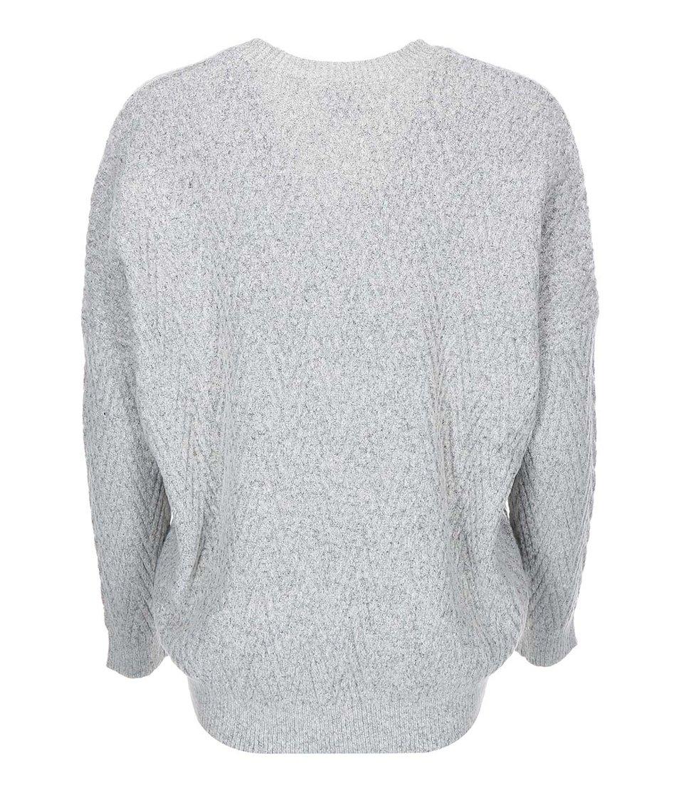 Světle šedý cardigan Vero Moda Posh