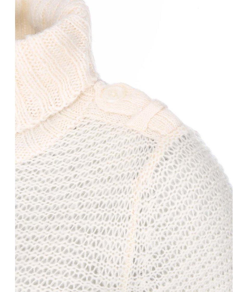 Krémový svetr s rolákem Vero Moda Celeste