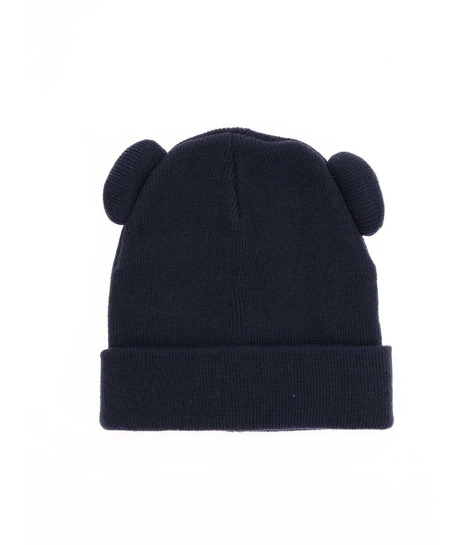 Tmavě modrá čepice Vero Moda Teddy Beanie