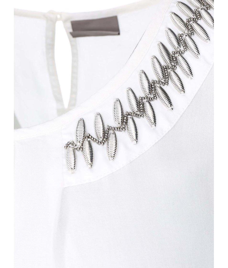 Bílý top Vero Moda New Bead
