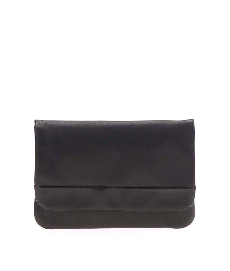 Černá dámská kožená minimalistická peněženka Vagabond