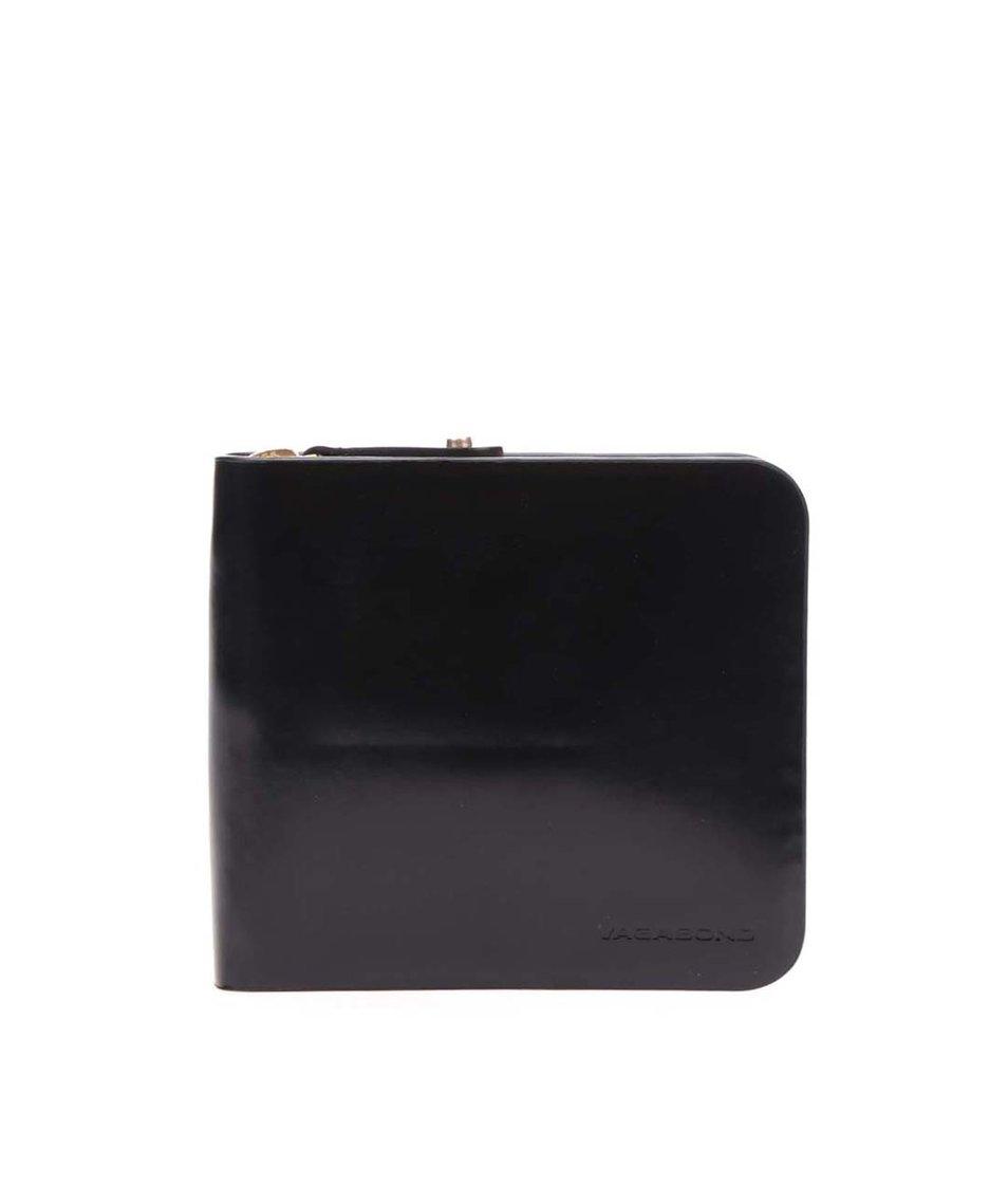 Černá dámská kožená lesklá peněženka Vagabond