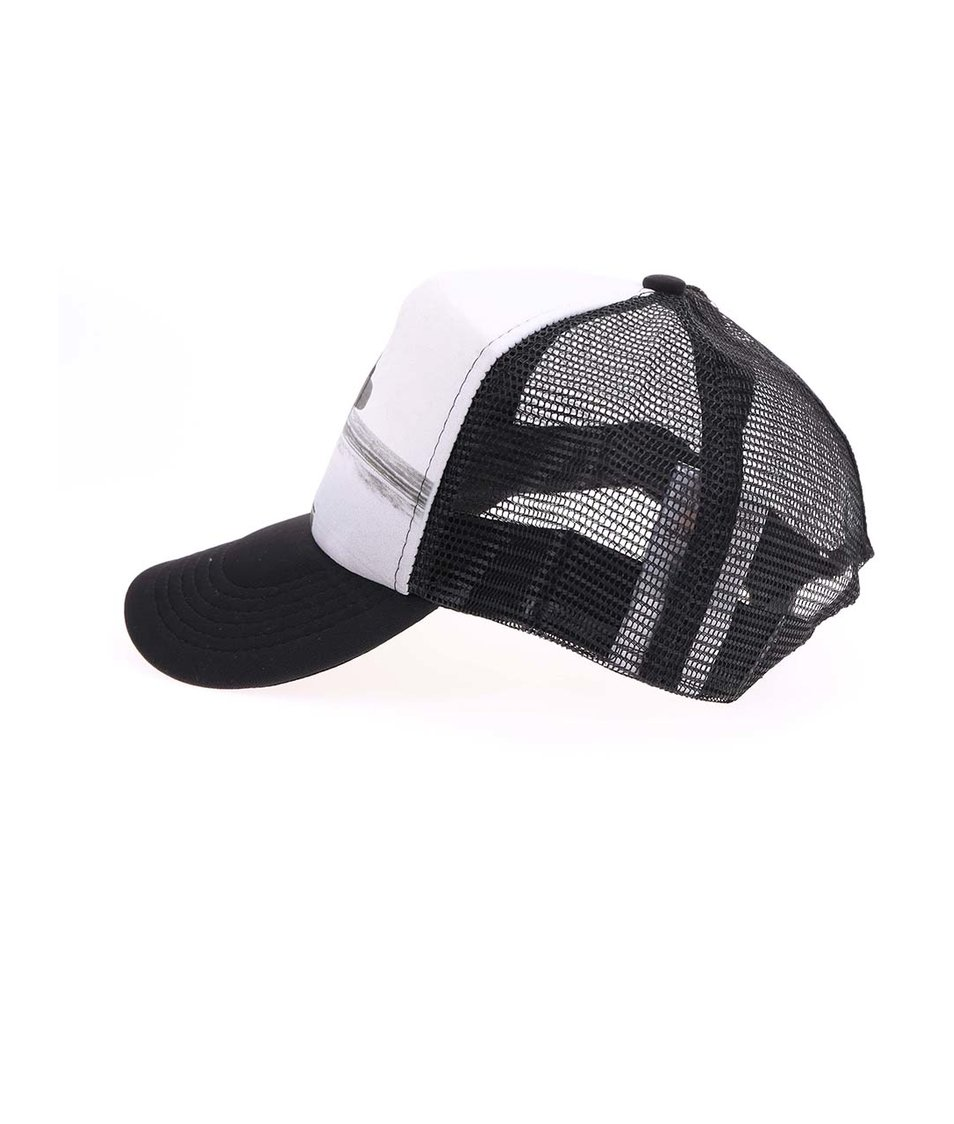 Černo-bílá unisex kšiltovka ZOOT Originál Surfar