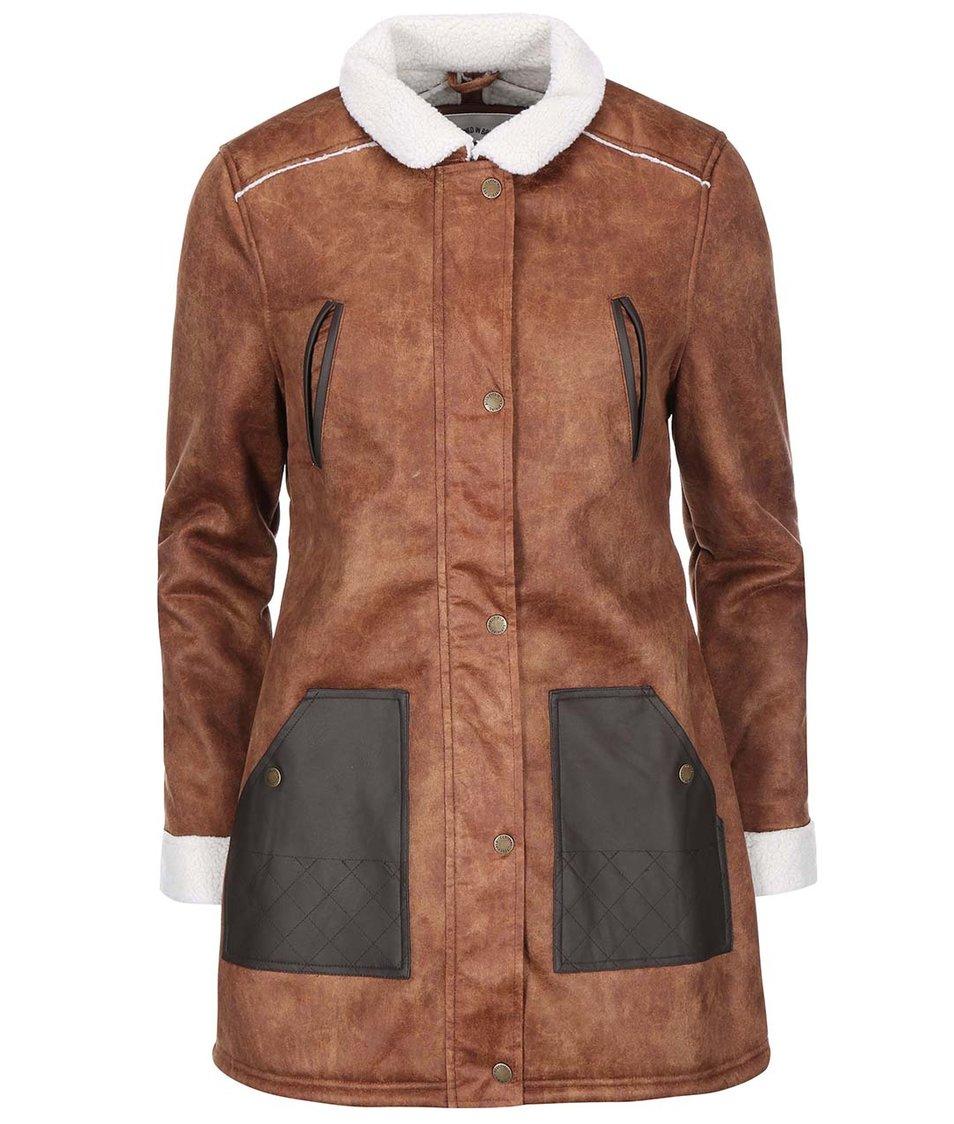 Hnědý dámský kabát Bellfield Kendal