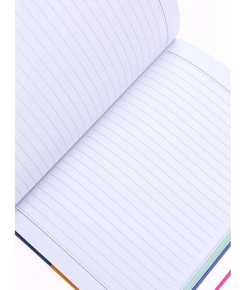 Modrý zápisník Happy Jackson Ok Here's The Plan
