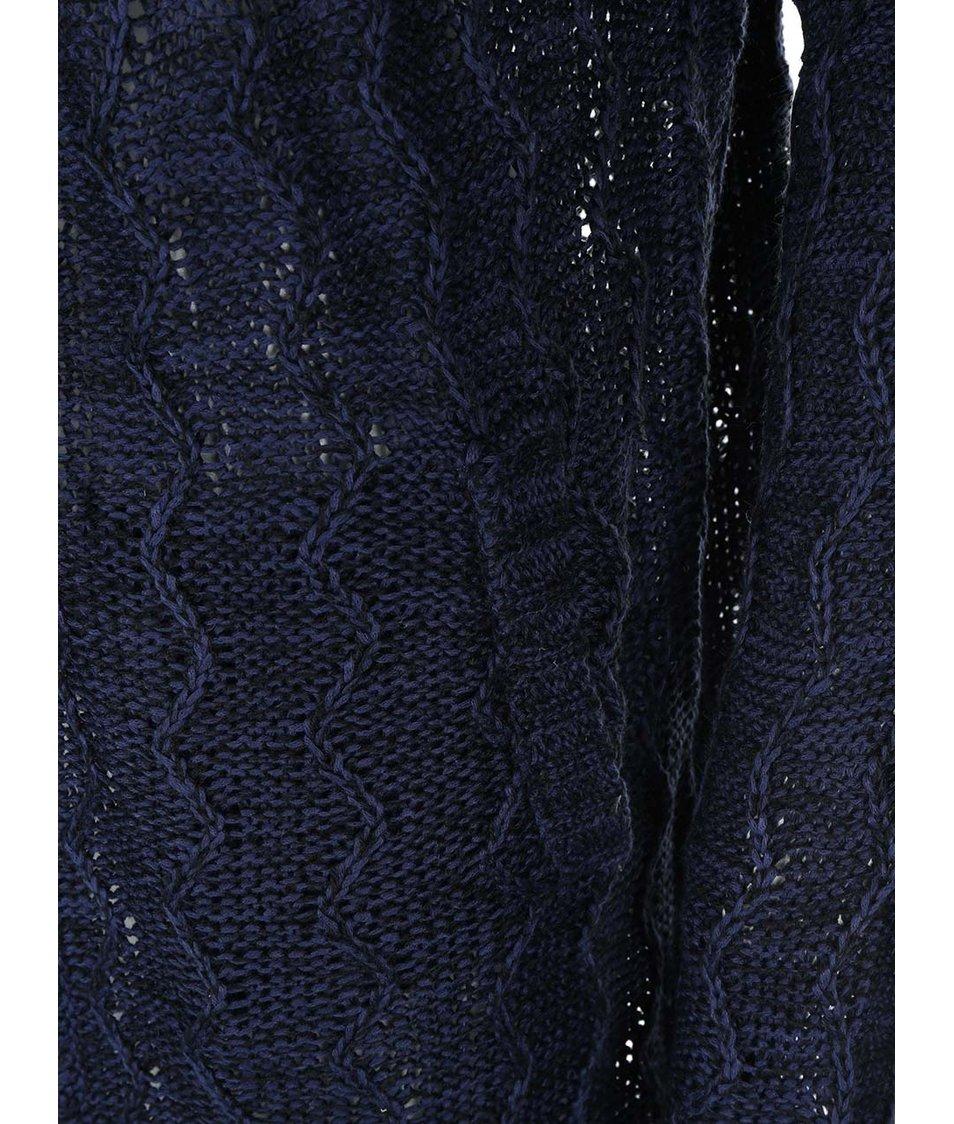 Tmavě modrý dámský volnější cardigan Bellfield Lydney