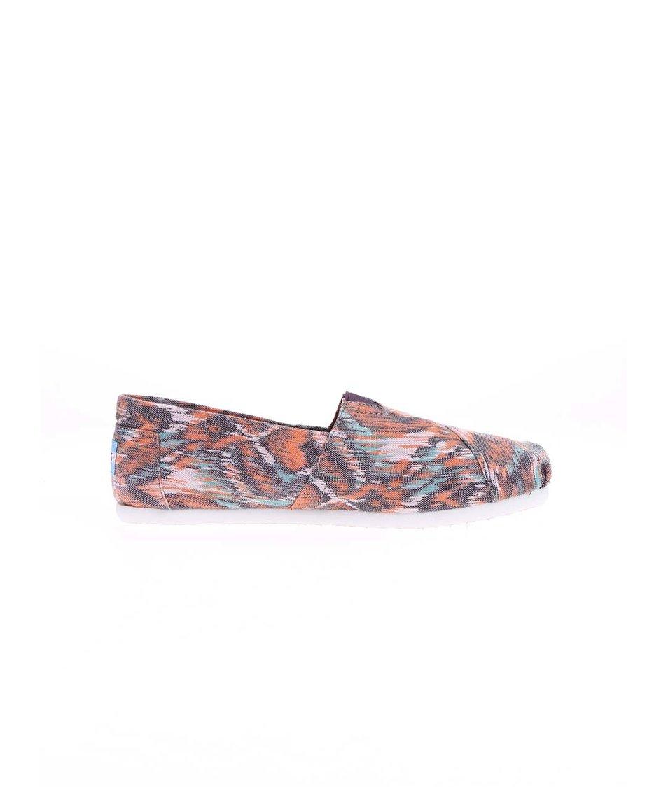 Barevné dámské loafers Toms Classic