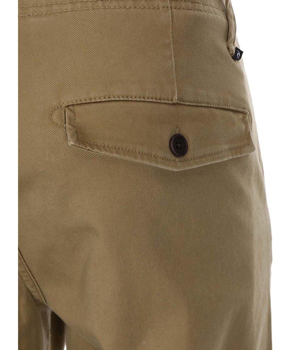 Béžové pánské kalhoty Rip Curl