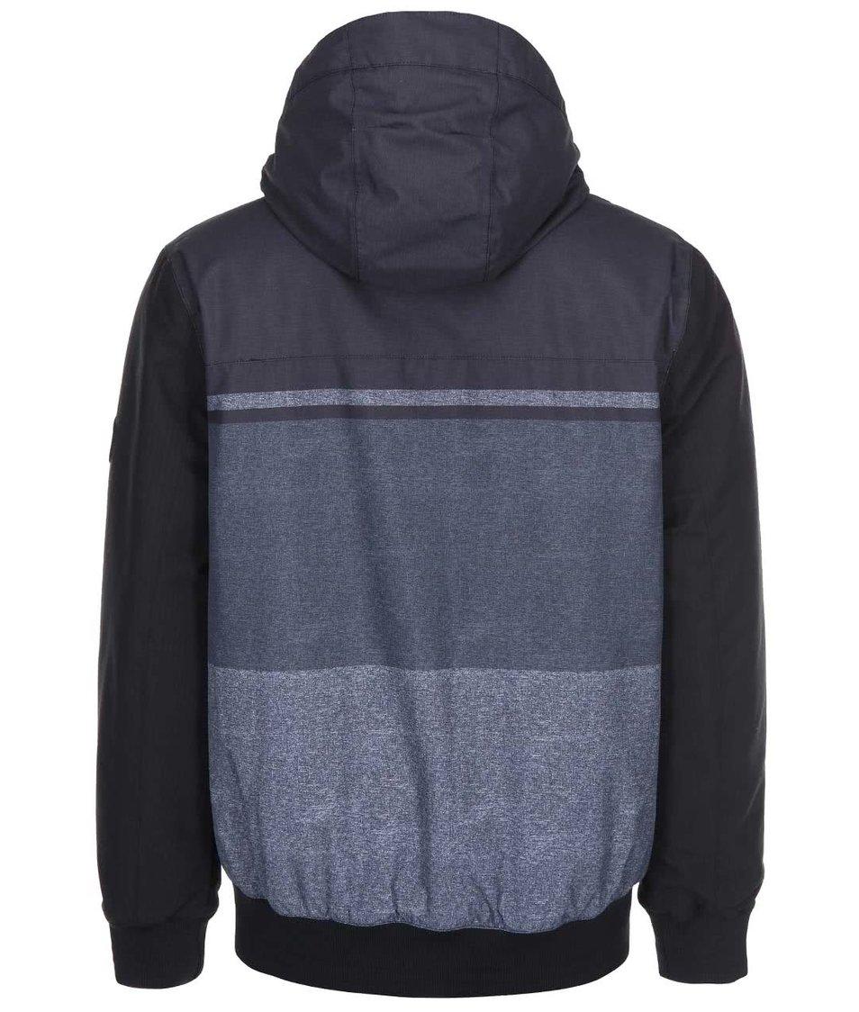 Šedo-černá pánská bunda s kapucí Rip Curl