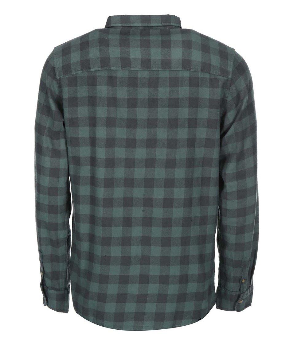 Zelená pánská kostkovaná košile Rip Curl