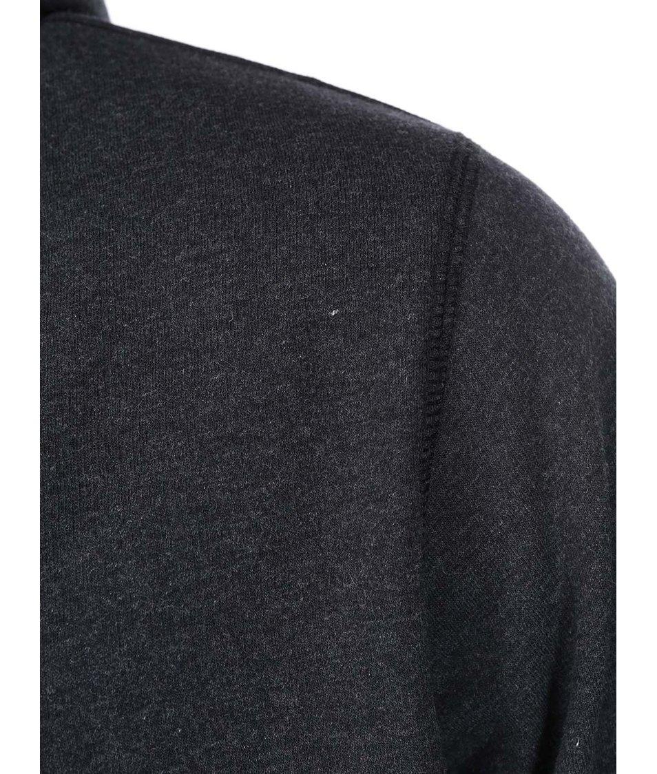 Khaki-šedá pánská mikina na zip Rip Curl