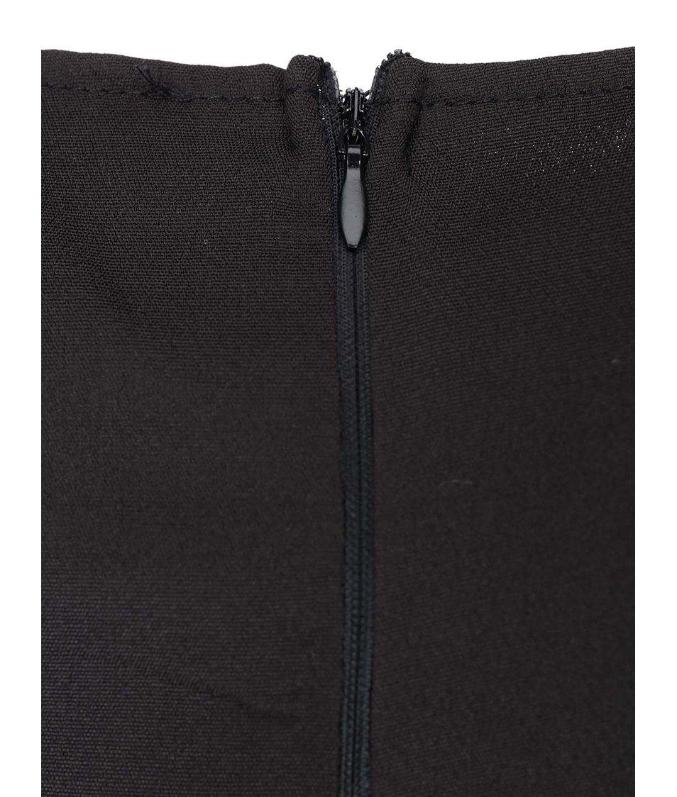 Černo-petrolejové šaty AX Paris