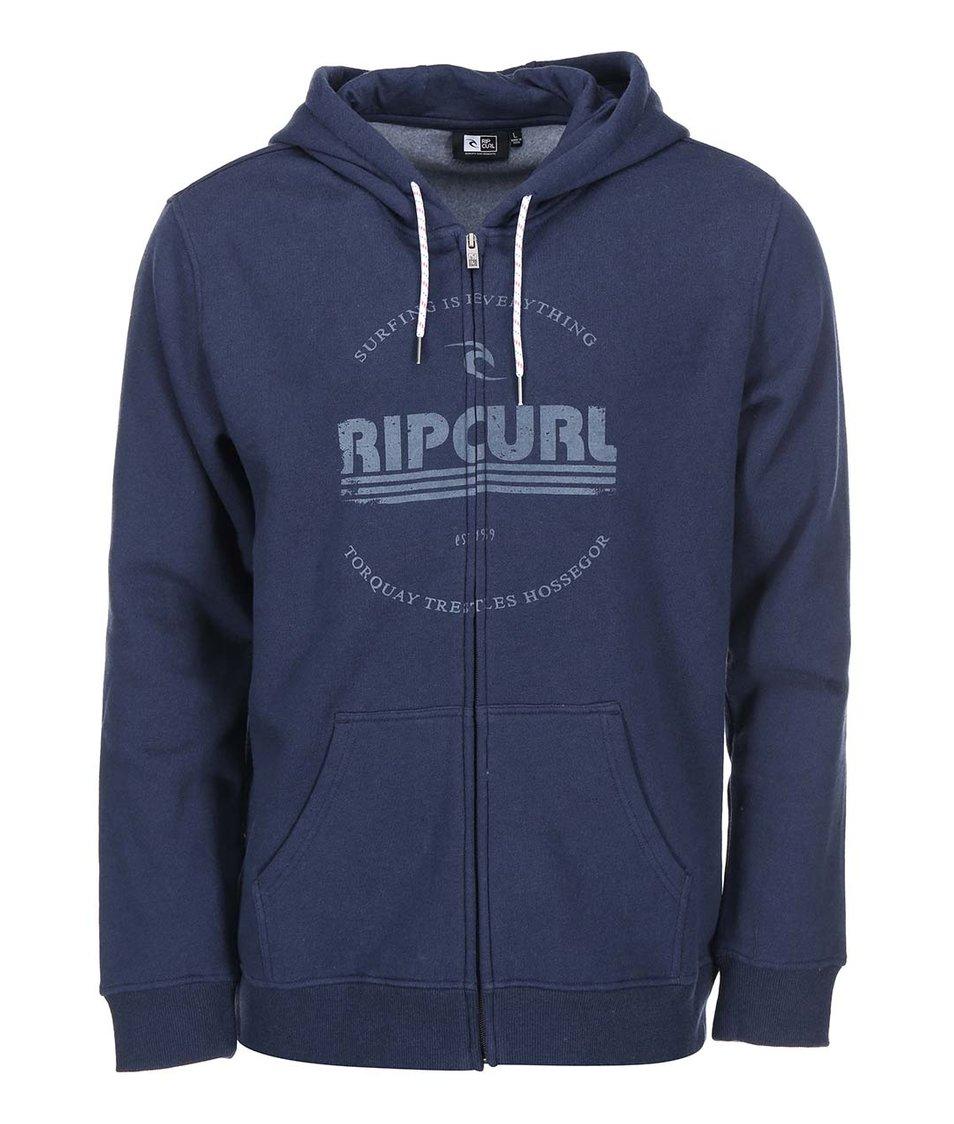 Tmavě modrá pánská mikina na zip Rip Curl