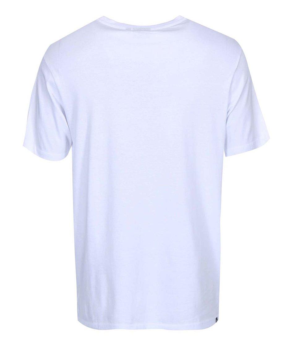 Bílé pánské triko s potiskem Rip Curl