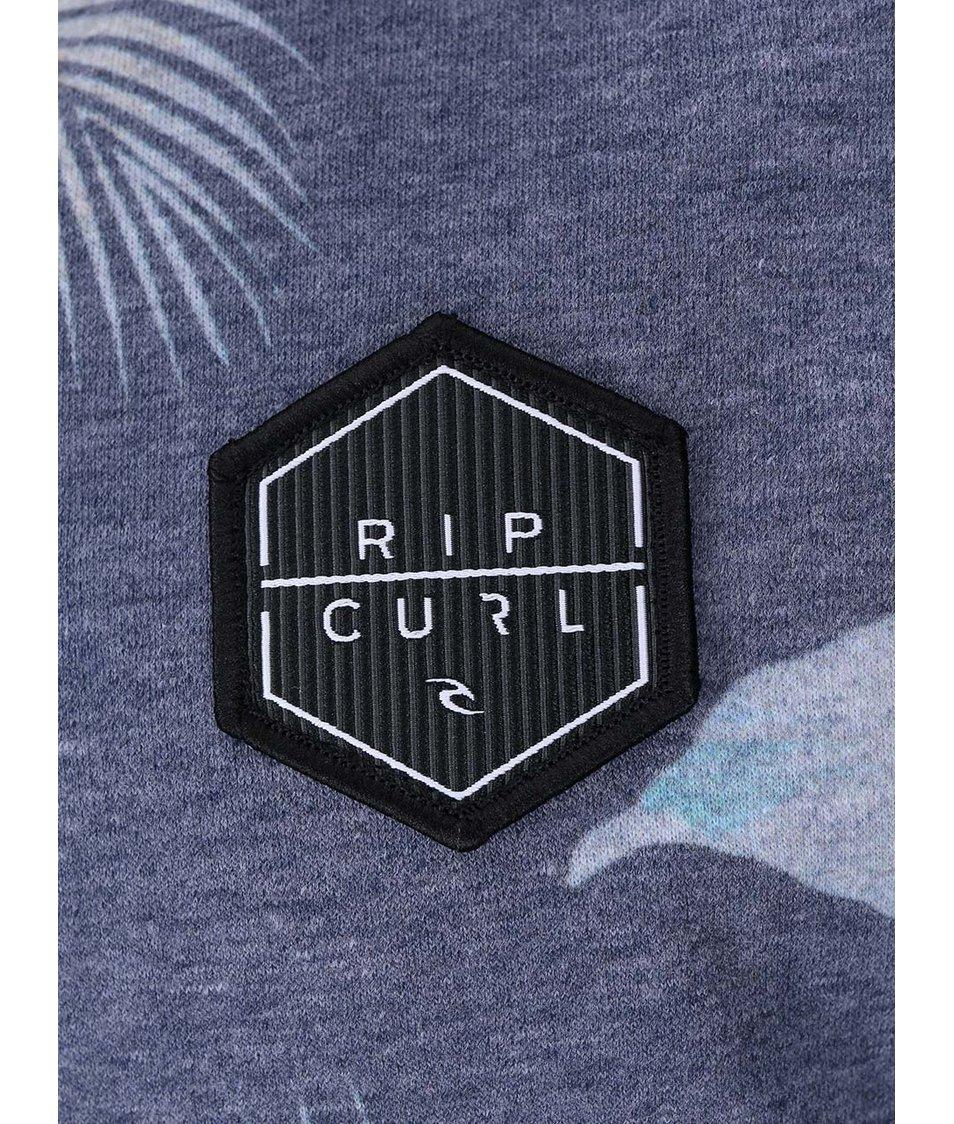 Modrá pánská mikina s potiskem Rip Curl