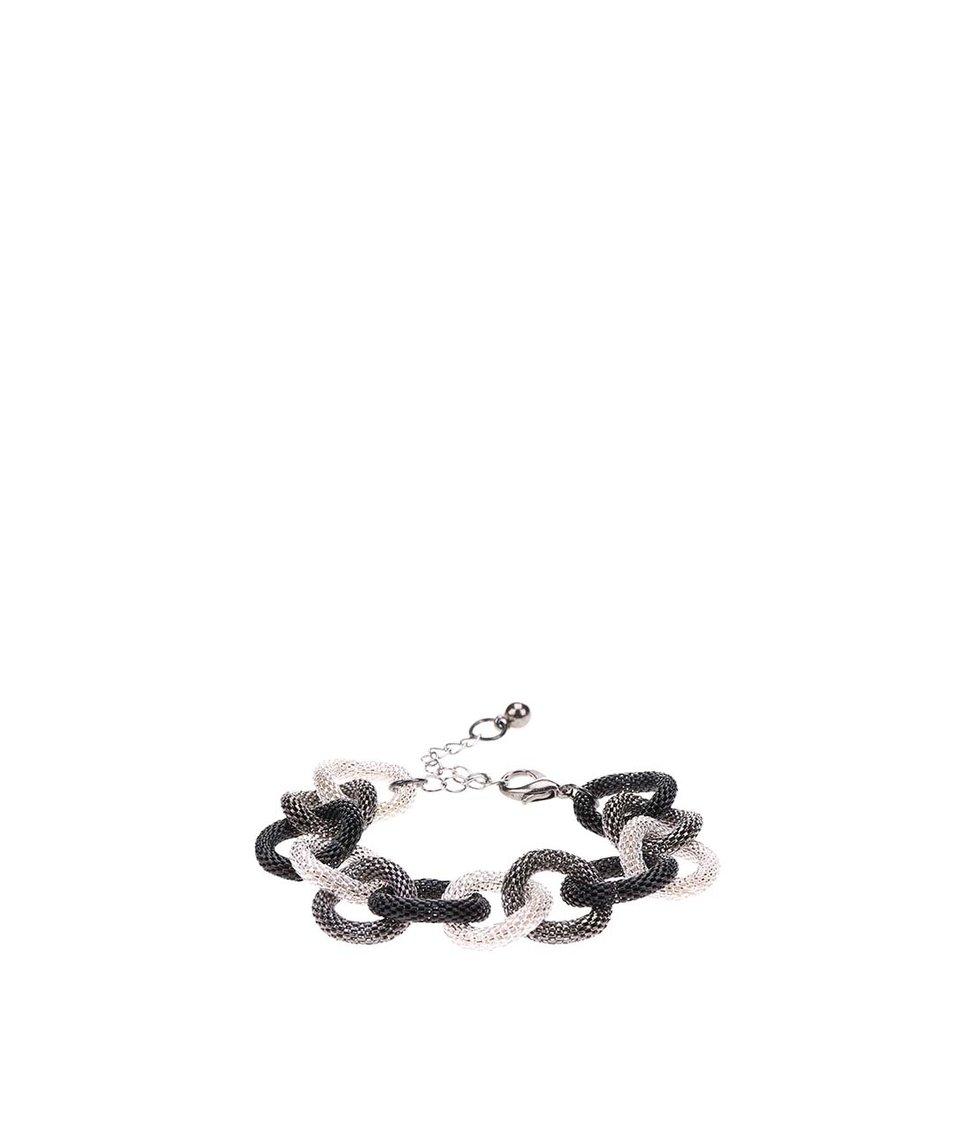 Kroužkový náramek ve stříbrno-šedé barvě Joe Cool