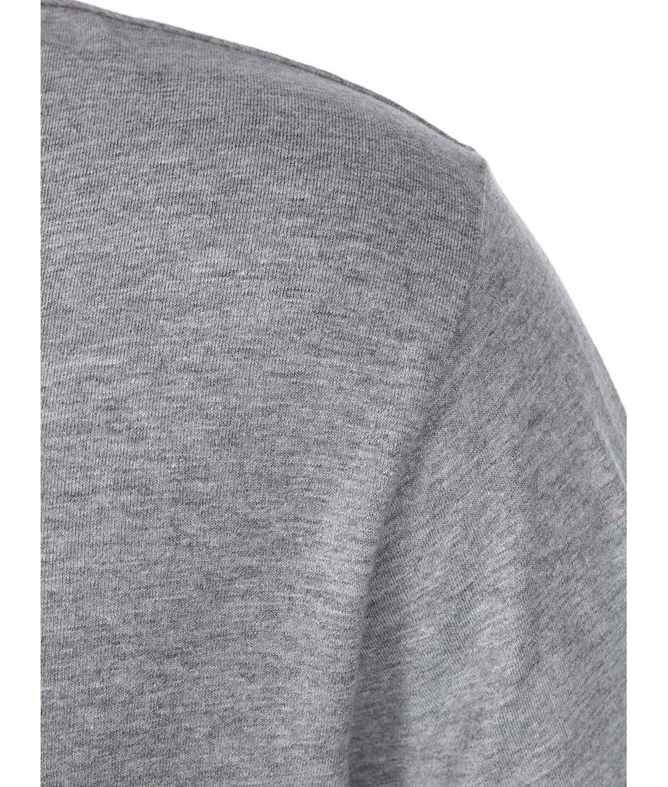 Šedé pánské triko s dlouhým rukávem Rip Curl