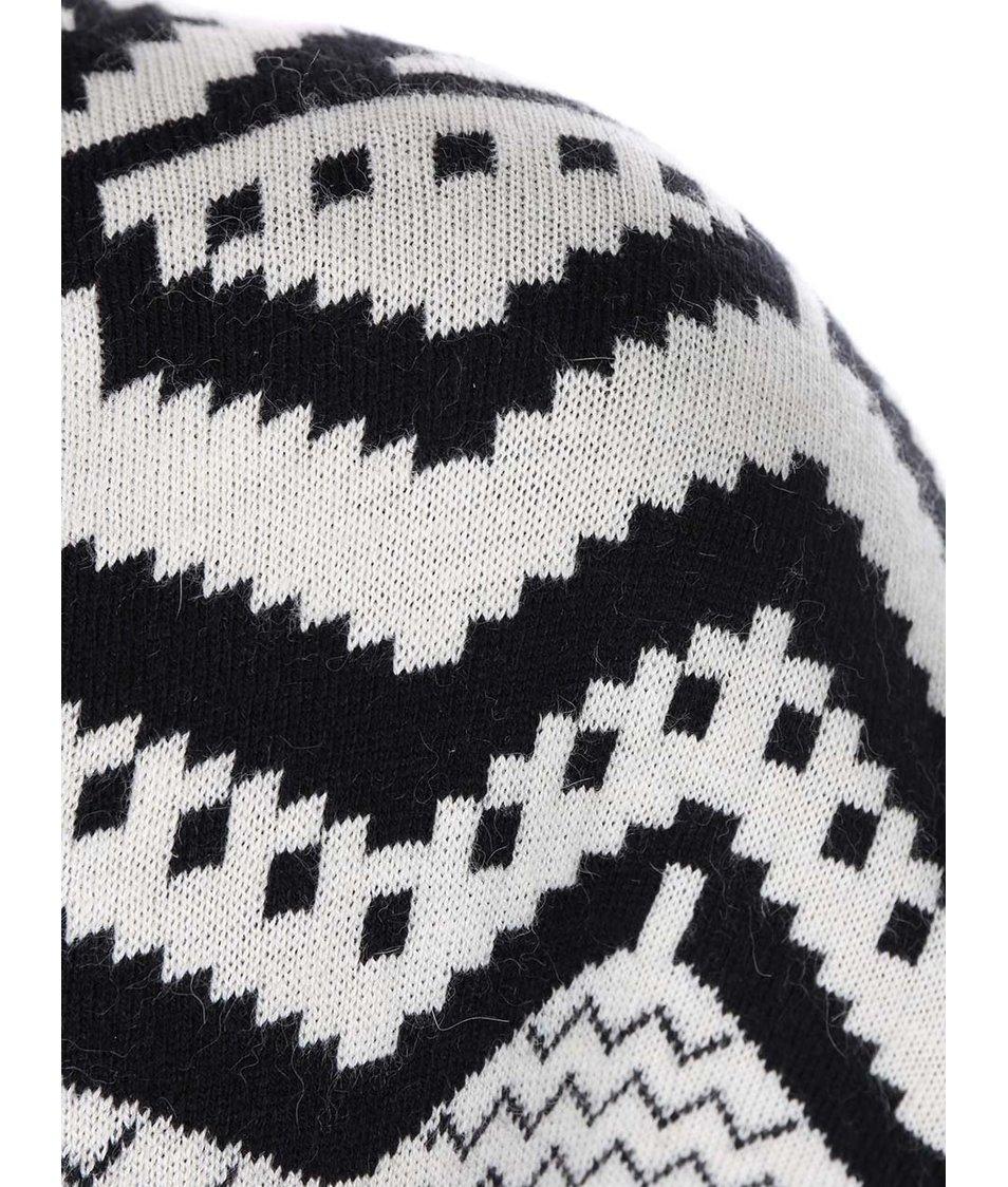 Černo-bílý dámský vzorovaný cardigan Rip Curl Monashee
