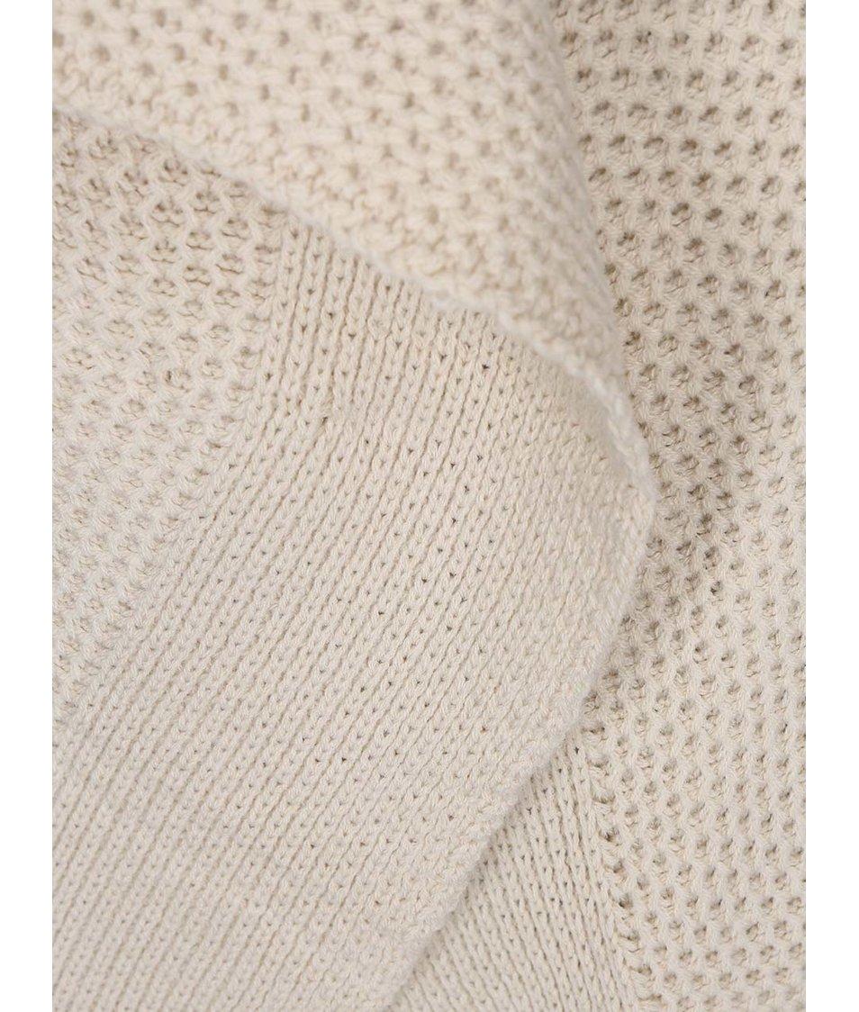 Béžový pletený cardigan Vero Moda Ripa