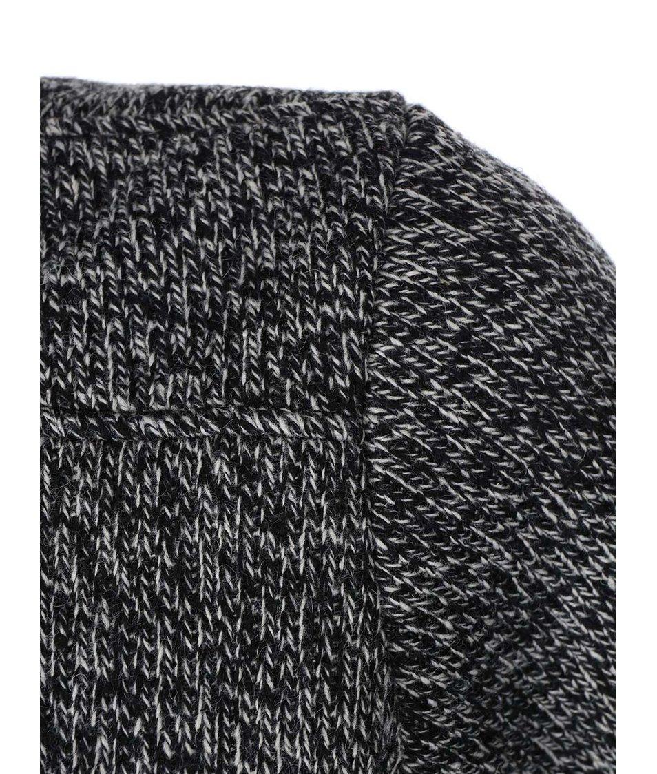 Černo-šedá dámská žíhaná bunda Rip Curl Nottaway