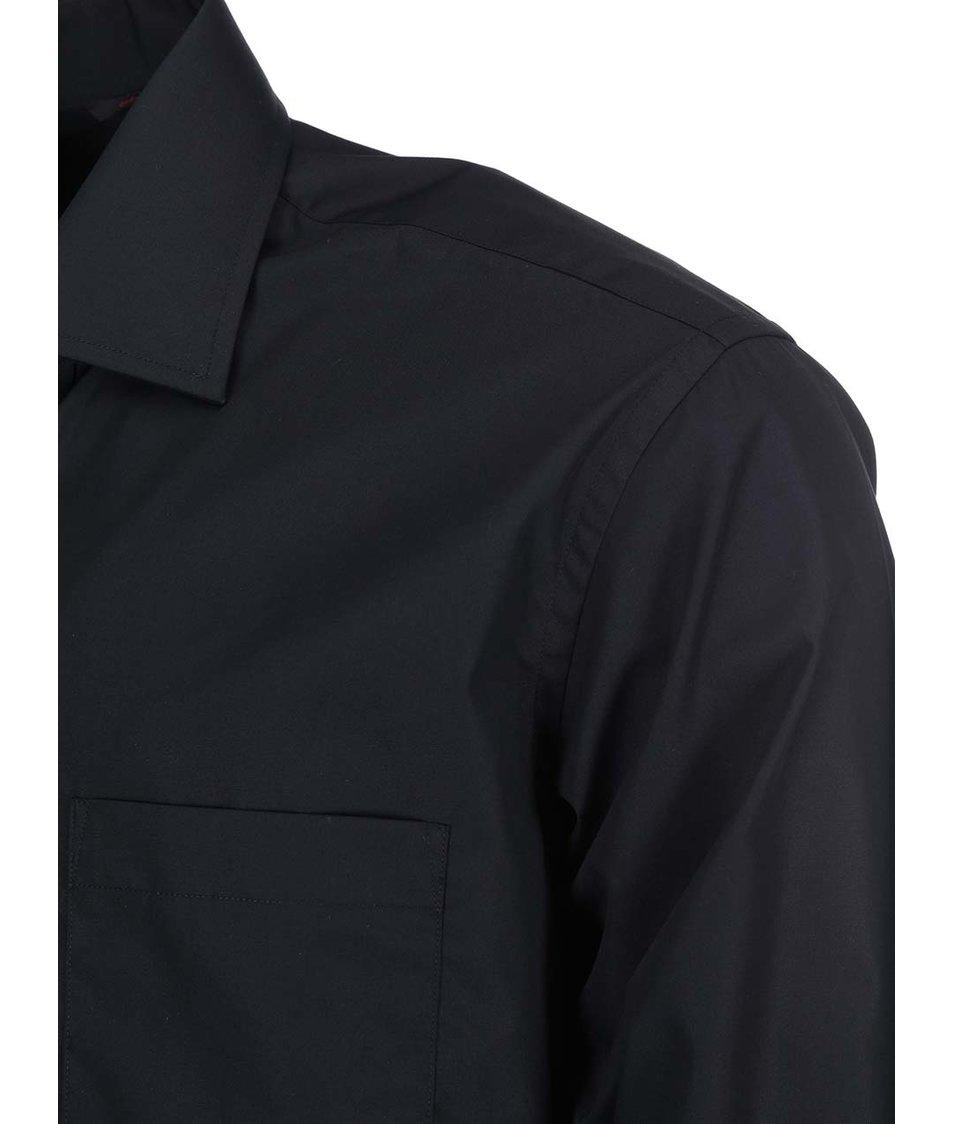 Černá košile Seven Seas Poplin