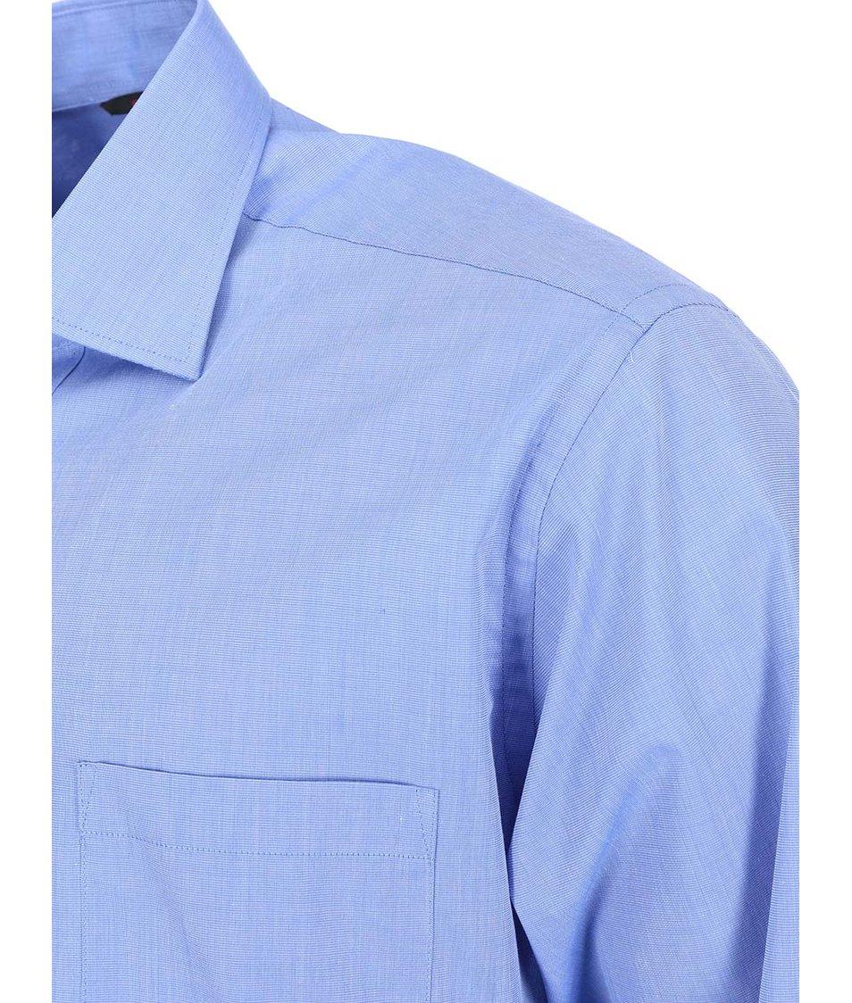Modrá košile Seven Seas Fil Sky