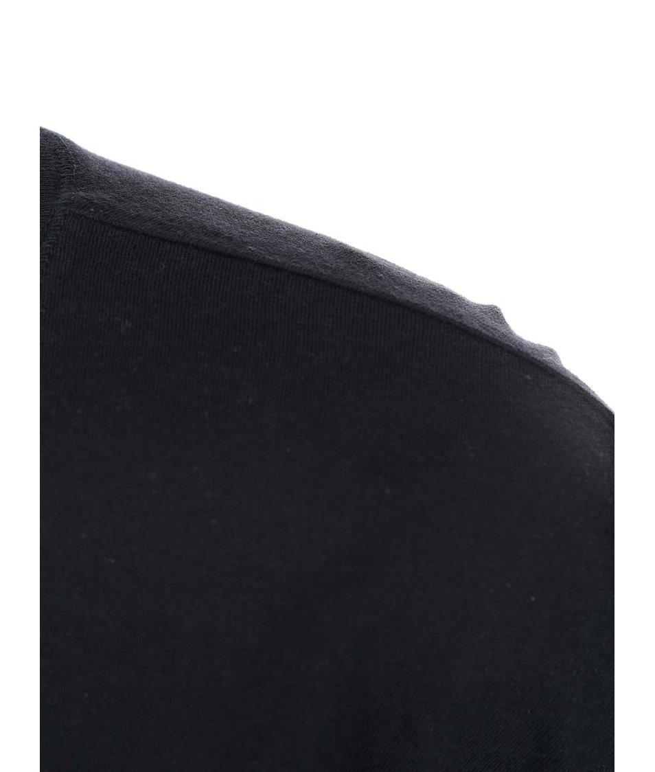 Černé dámské tričko MICHELLE LOSEKOOT Reálný svět