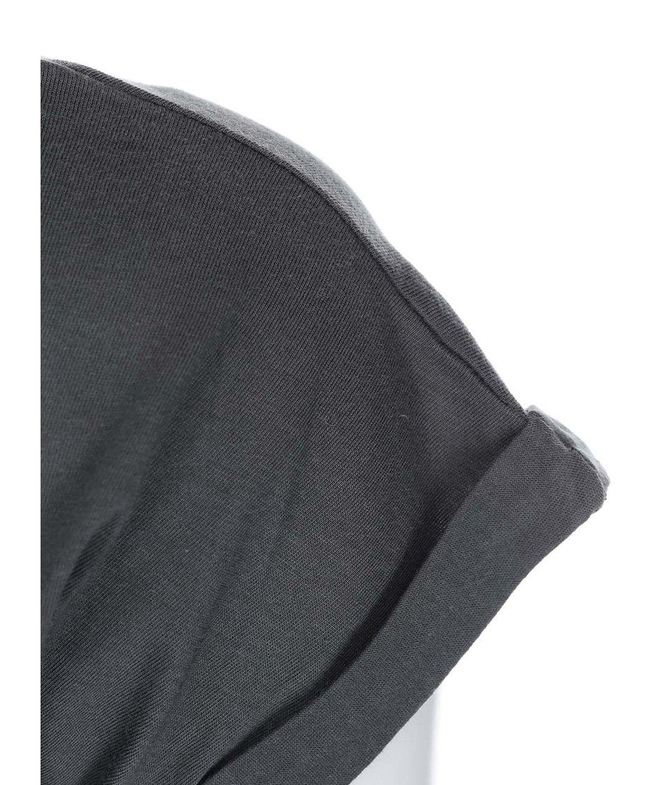Šedé dámské tričko MICHELLE LOSEKOOT Filtry na lidi